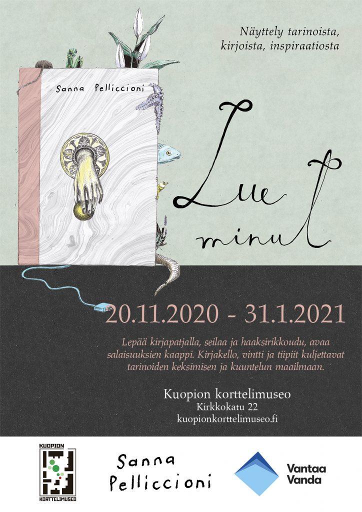Lue minut näyttelyn juliste. Näyttely avoinna Korttelimuseolla 20.11.2020-31.1.2021